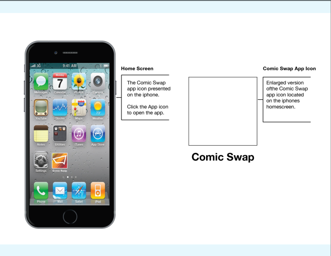 Comic Swap Mobil App: Part II – Lost Realm